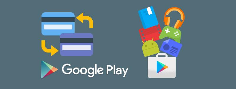 Способы оплаты в google play