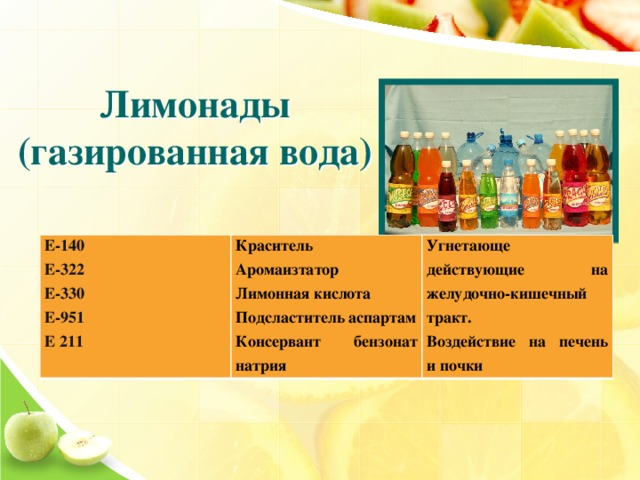 Польза и вред пищевой добавки е200 – сорбиновой кислоты