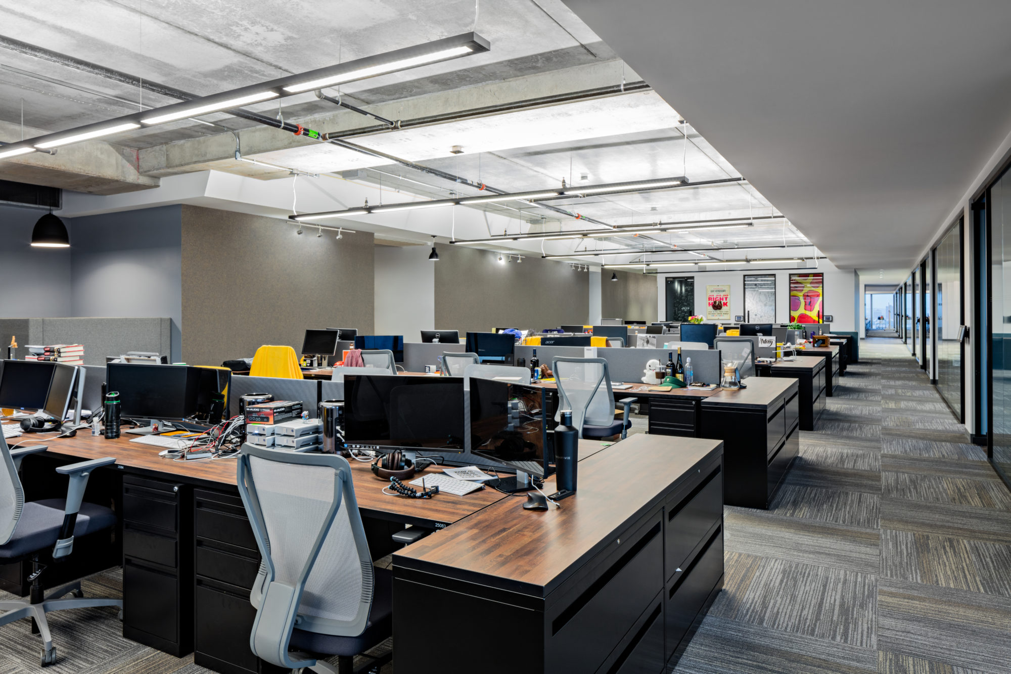 Что собой представляет офис в стиле open space