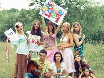Субкультура хиппи: дети цветов за свободную любовь (всё о движении, фото)
