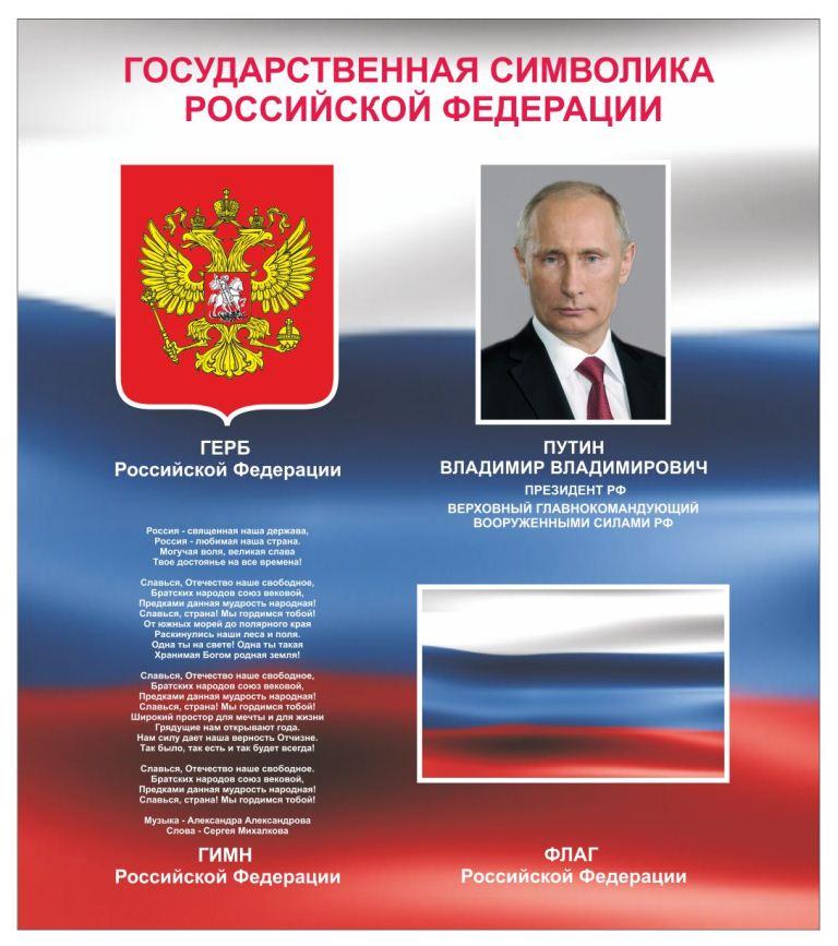 Государственные символы россии — википедия. что такое государственные символы россии