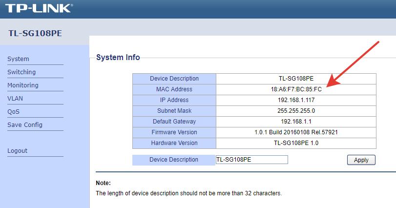 Как узнать mac адрес компьютера windows linux android iphone