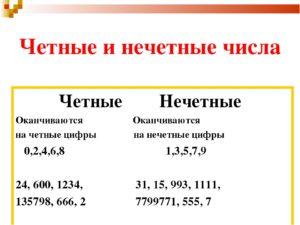 Четное число нечетными - pevuz.ru