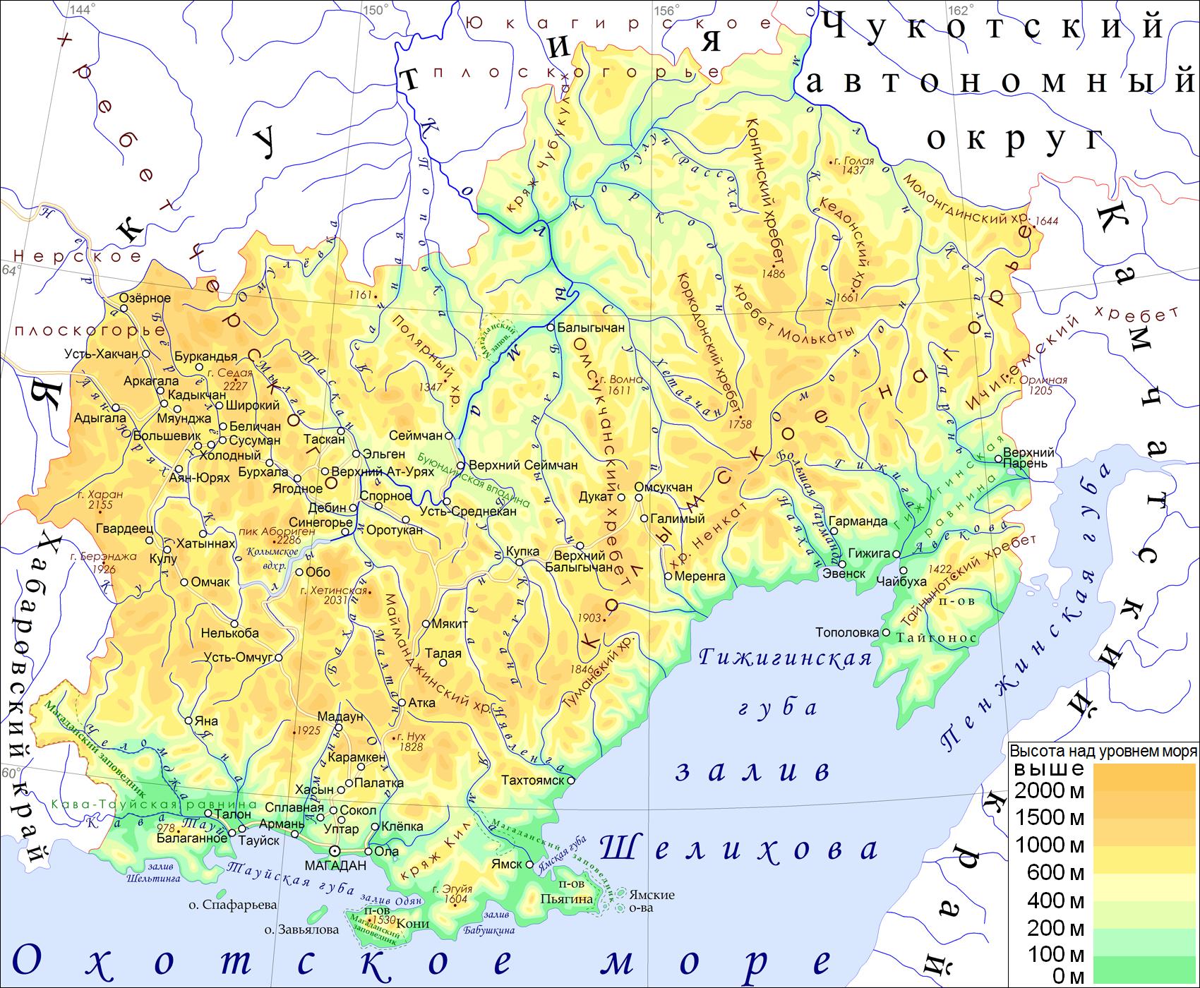 Колымский край — википедия. что такое колымский край