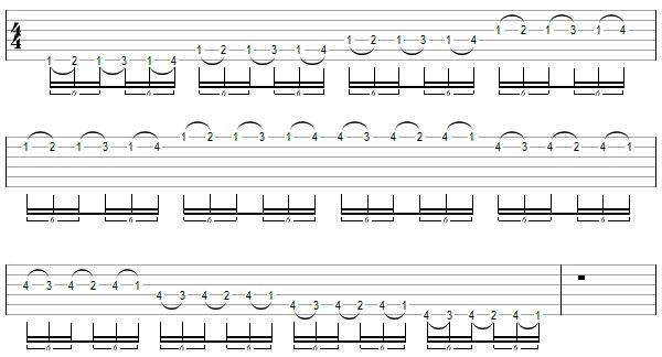 Легато — энциклопедия гитармага