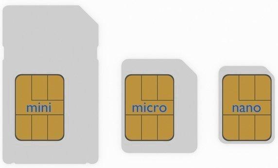 Что такое nano-sim, micro-sim карты, их отличия, как сделать их из обычной и одну из другой