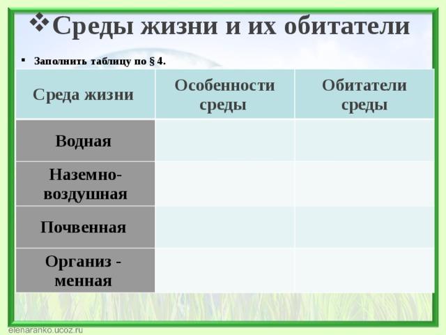 22.абиотические факторы среды