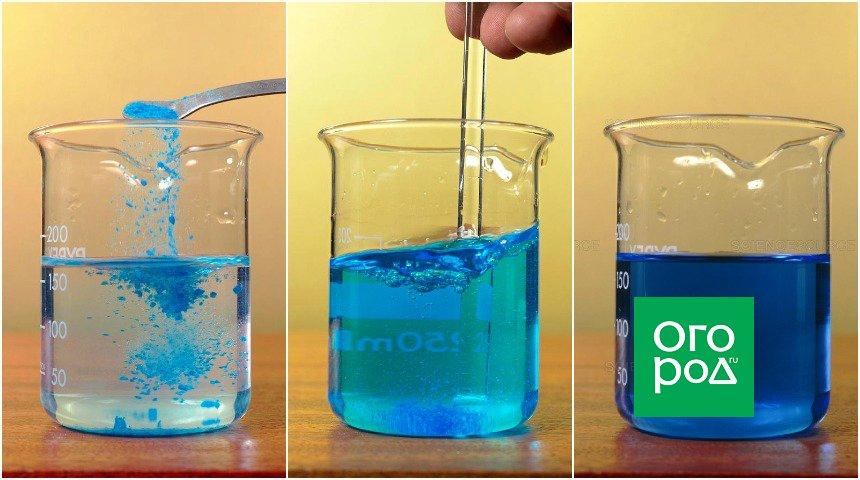 Медный купорос - инструкция по использованию в медицине, садоводстве и строительстве, химическая формула сульфата меди