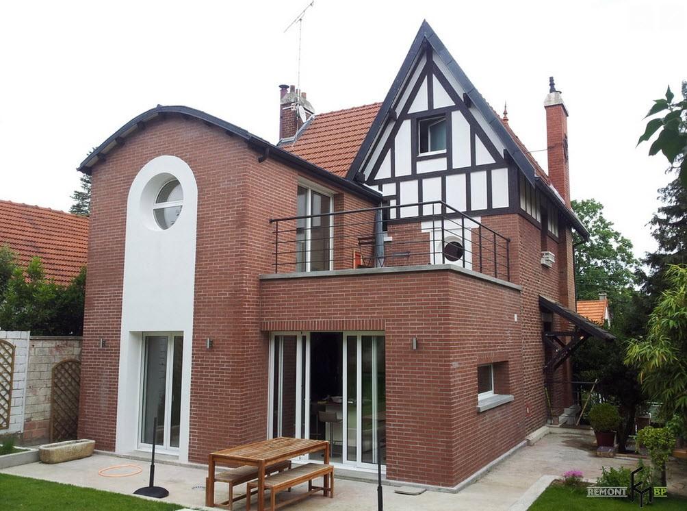 Материалы для отделки фасадов частных домов