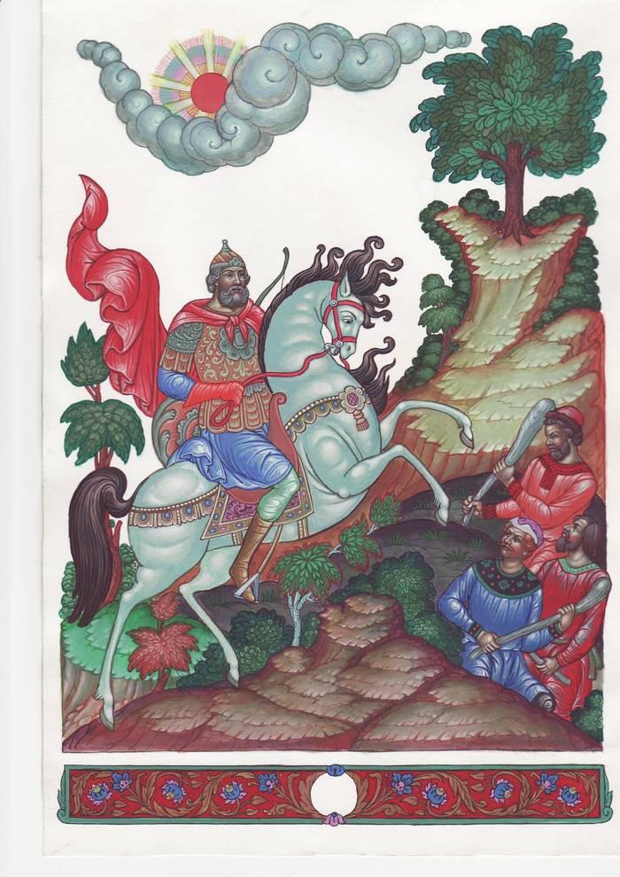 Былина | энциклопедия кругосвет