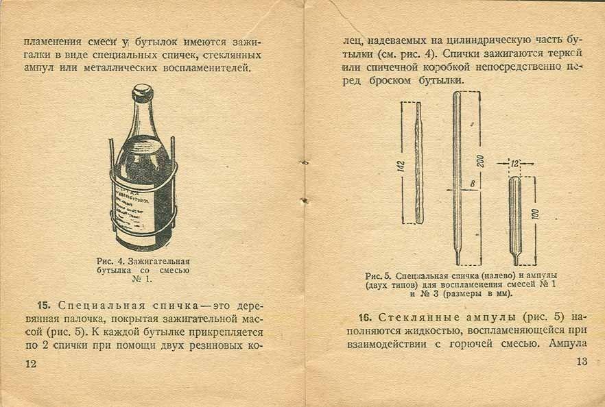 Коктейль молотова — викивоины — визуальная военно-историческая энциклопедия
