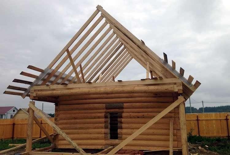 Стропила — неотъемлемая часть крыши