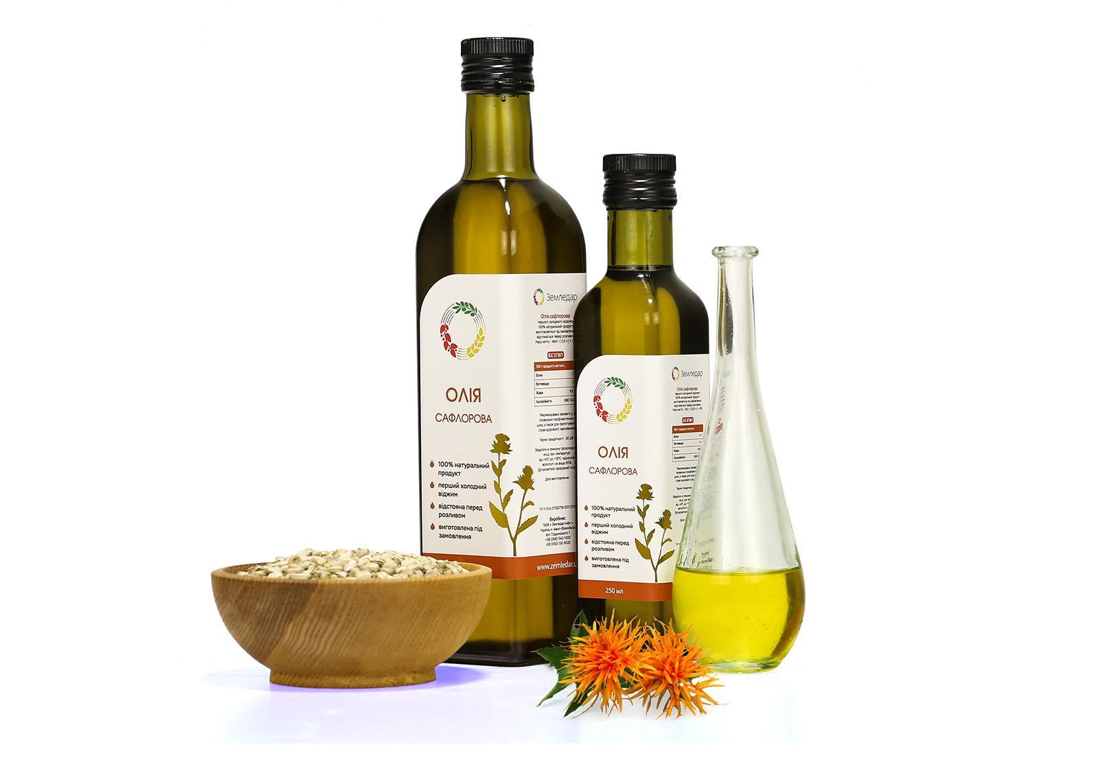Польза и вред сафлорового масла