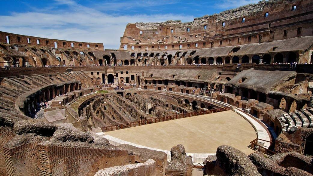 Где находится итальянская достопримечательность римский колизей, интересные факты, немного фактов из википедии