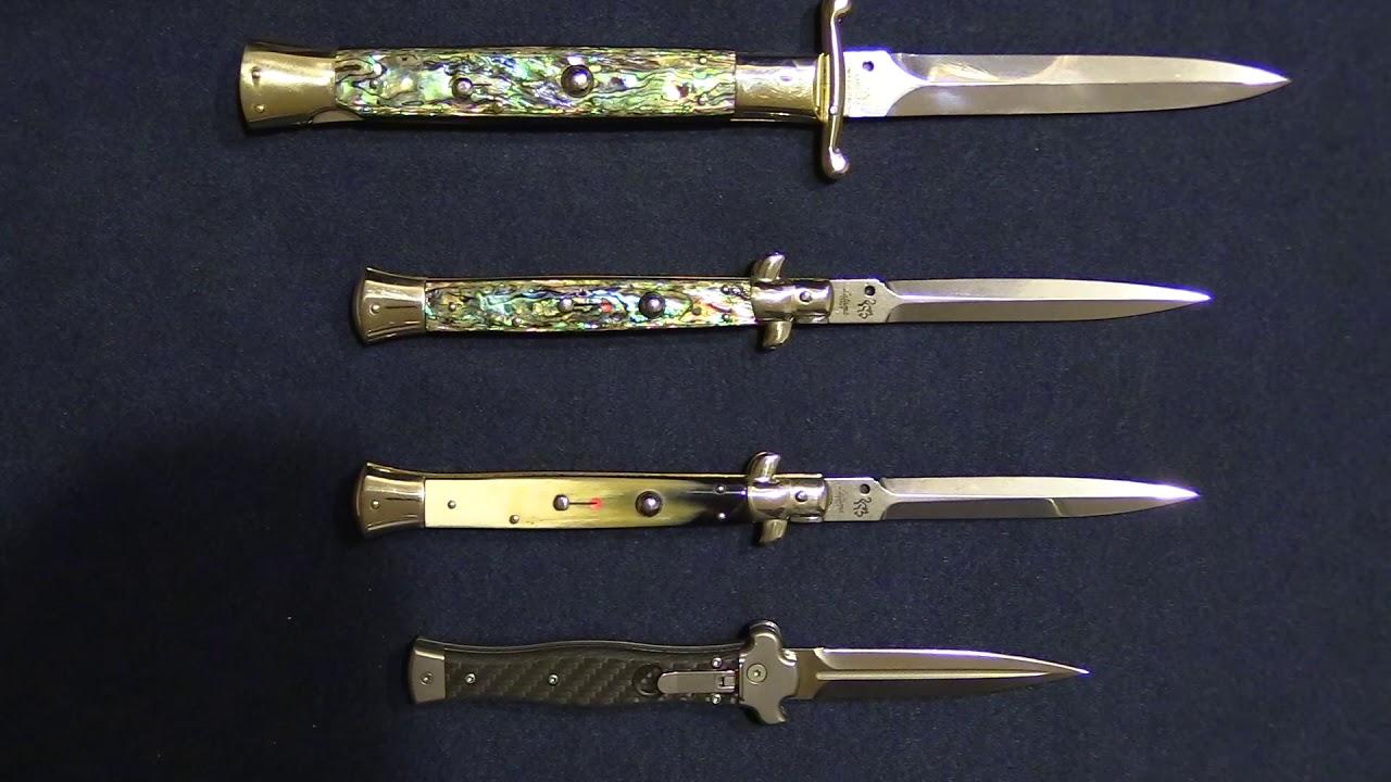 Стилет - холодное оружие, итальянский, испанский и японский варианты, узкое шилообразное или граненное лезвие и короткая гарда с выступами