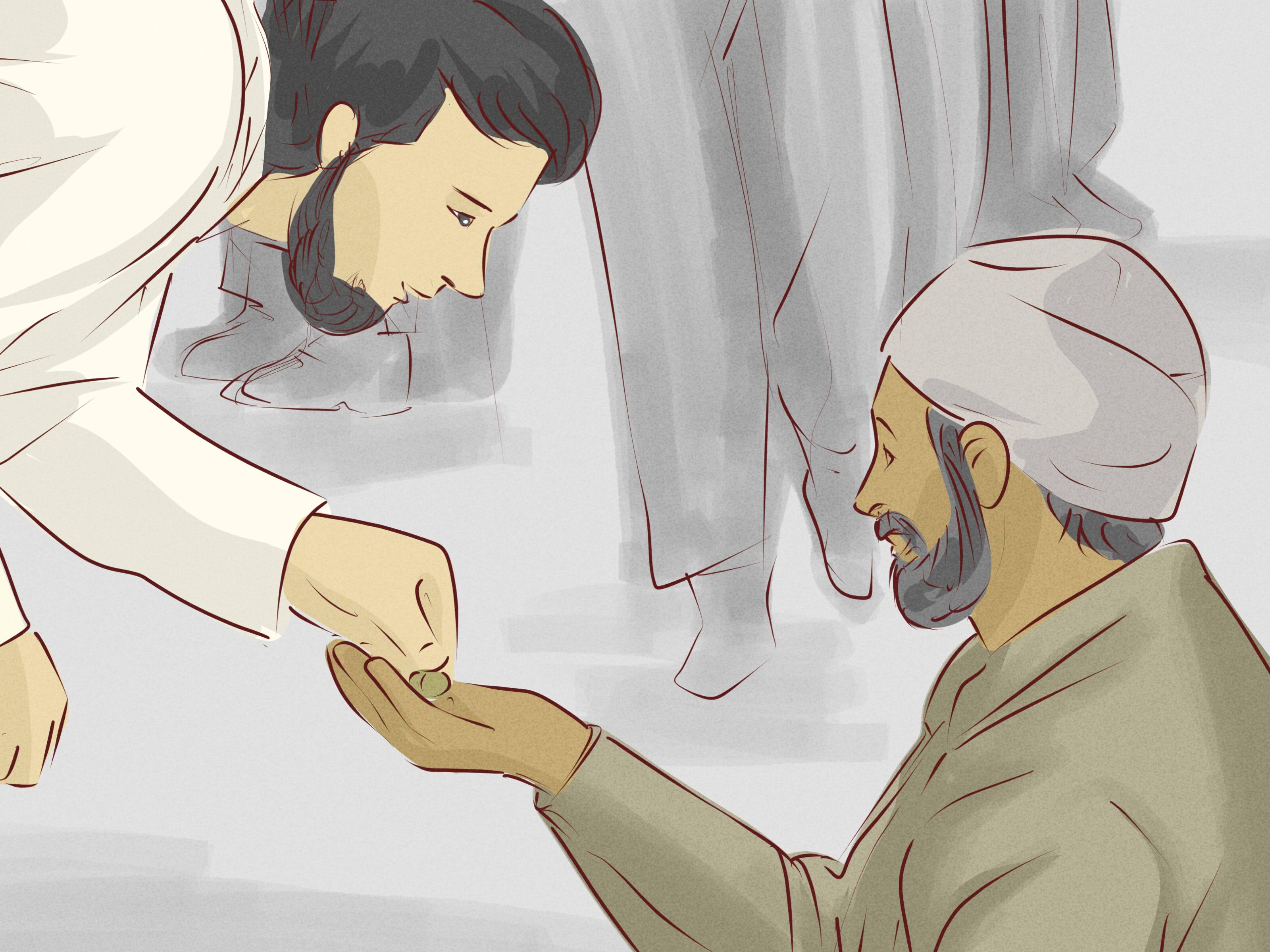 Польза добровольной милостыни (садака) в исламе- фикх