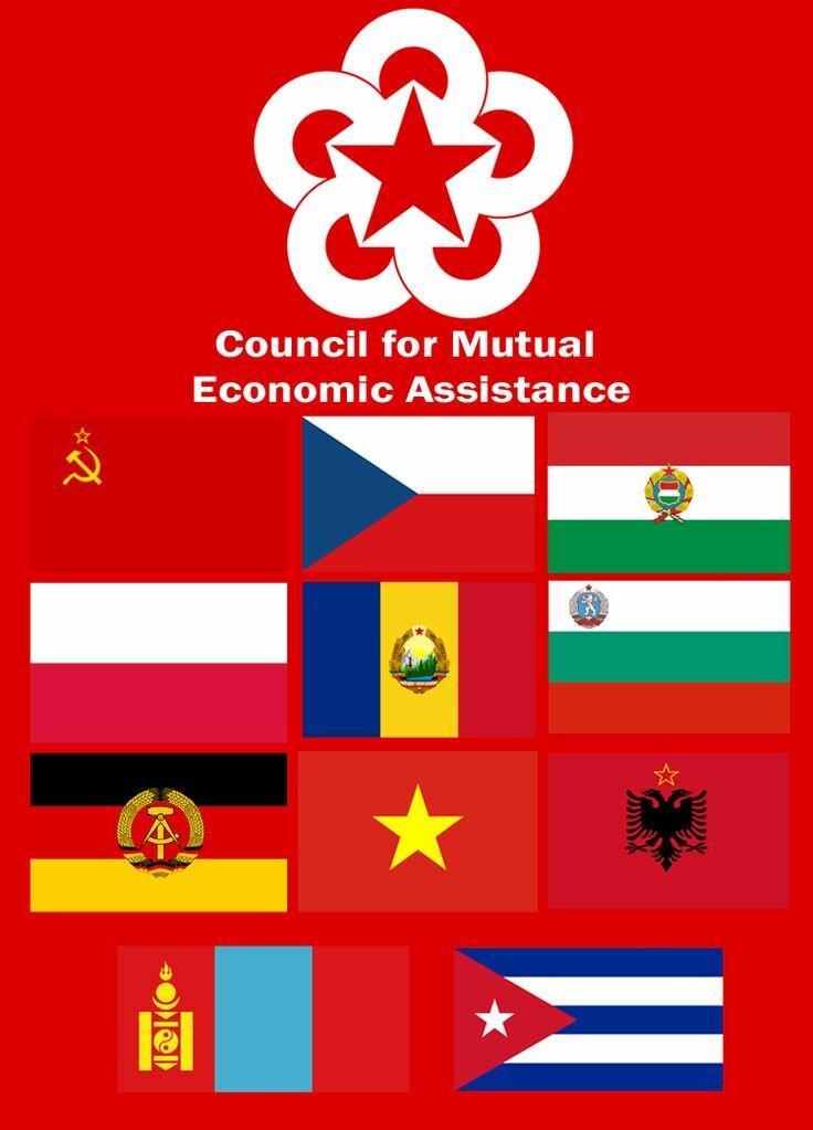Совет экономической взаимопомощи (сэв)