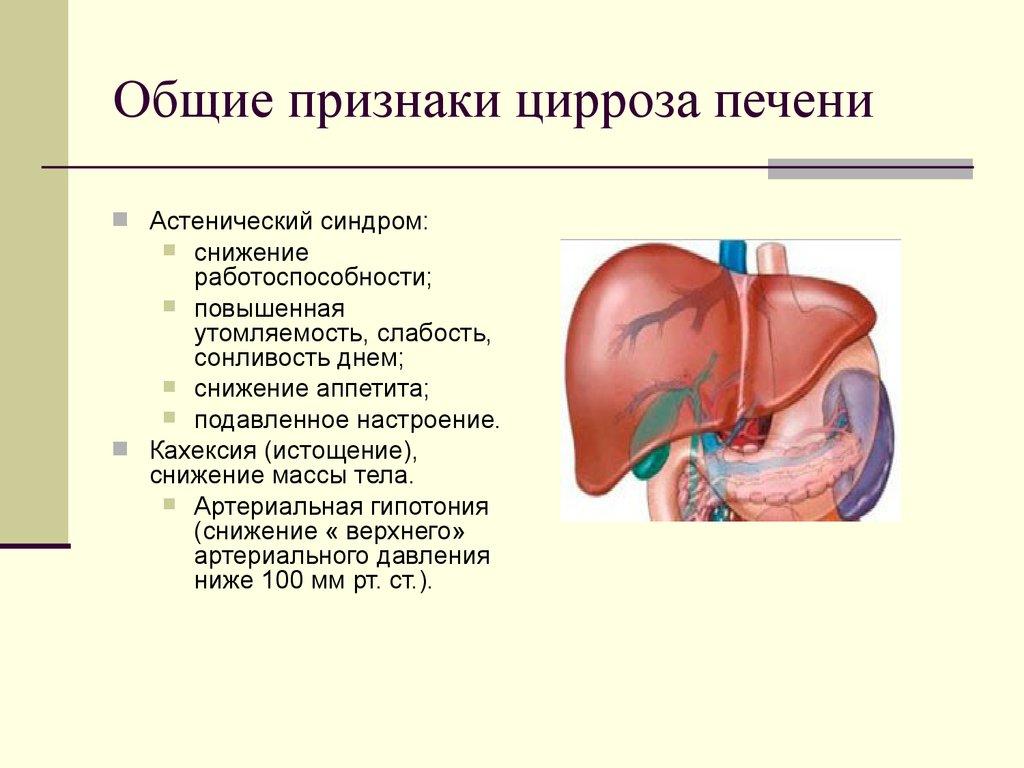 Цирроз печени: всё о заболевании