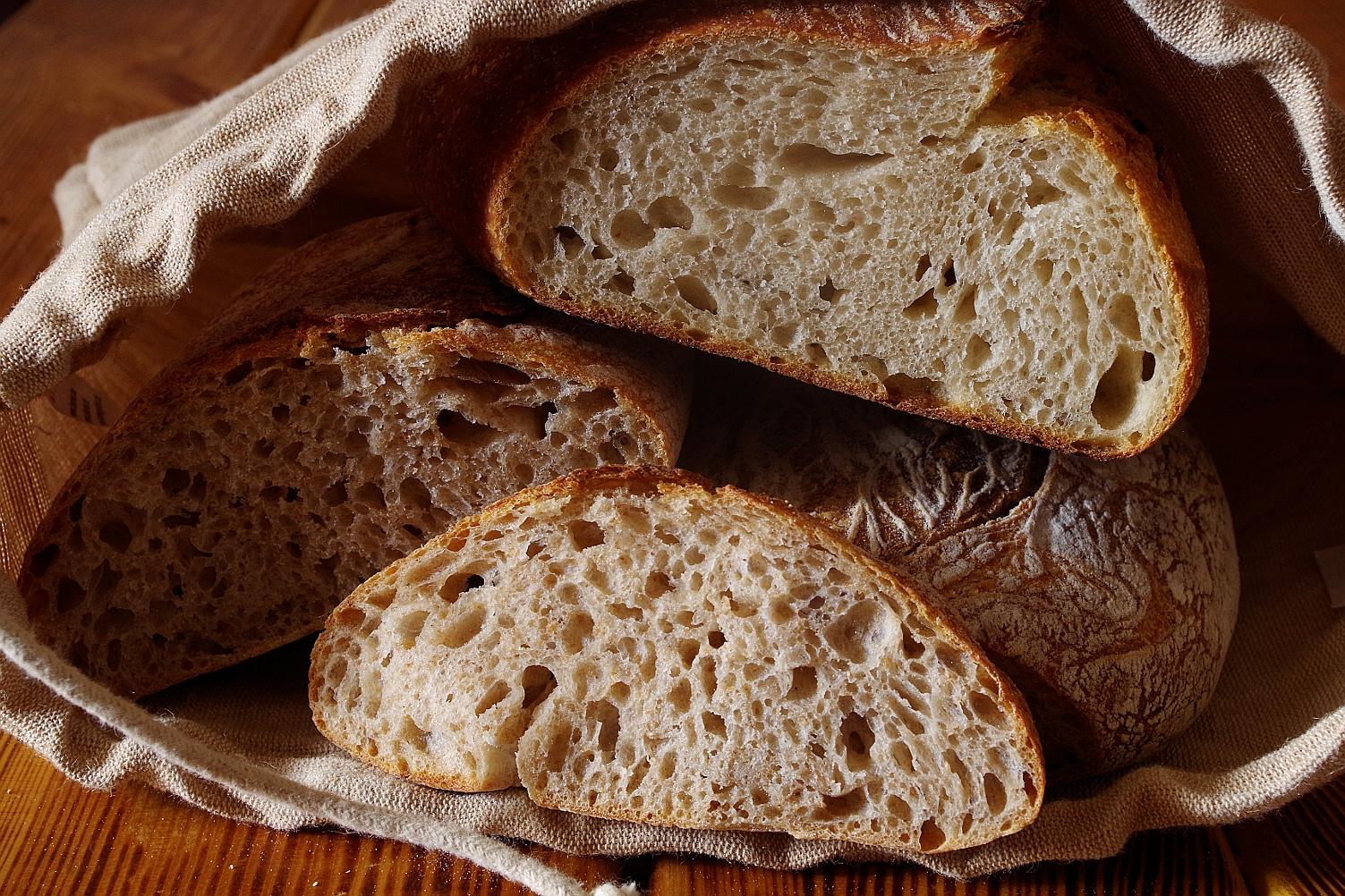 Подовый хлеб или зачем нужен камень для выпечки.