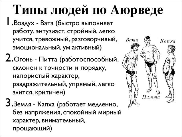 Аюрведа питание по дошам: вата, капха, питта диета и образ жизни, питание для похудения, для женщин