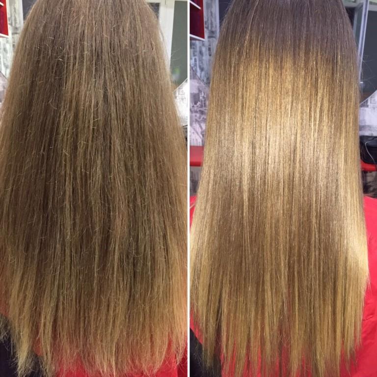 Полировка волос - как делать, сколько держится и результаты с фото до и после