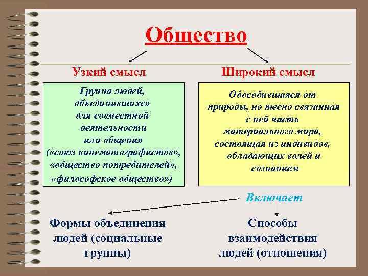 § 1. что такое общество
