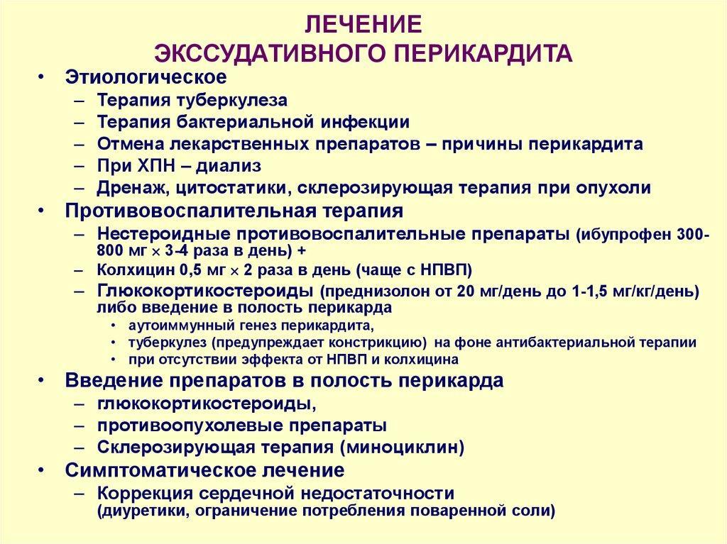 Перикардит | симптомы | диагностика | лечение - docdoc.ru