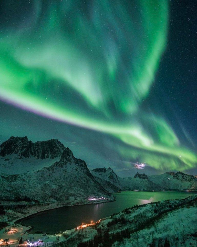 Северное сияние или полярное, прогноз, где можно увидеть
