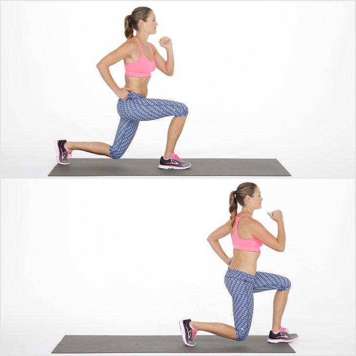Выпады в сторону: техника выполнения, какие мышцы работают