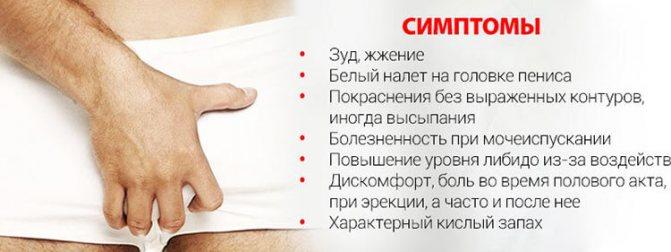 Молочница у мужчин: как выглядят симптомы, как лечить кандидоз
