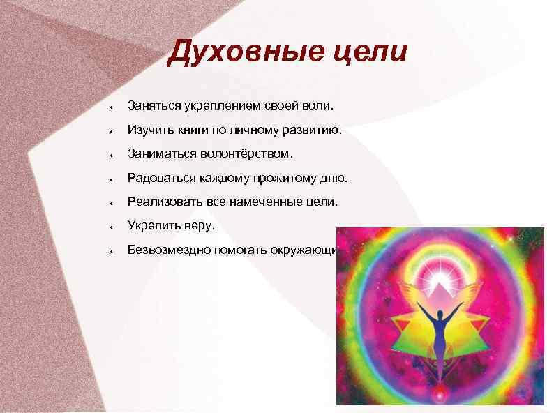 Духовность— это путь к самому себе