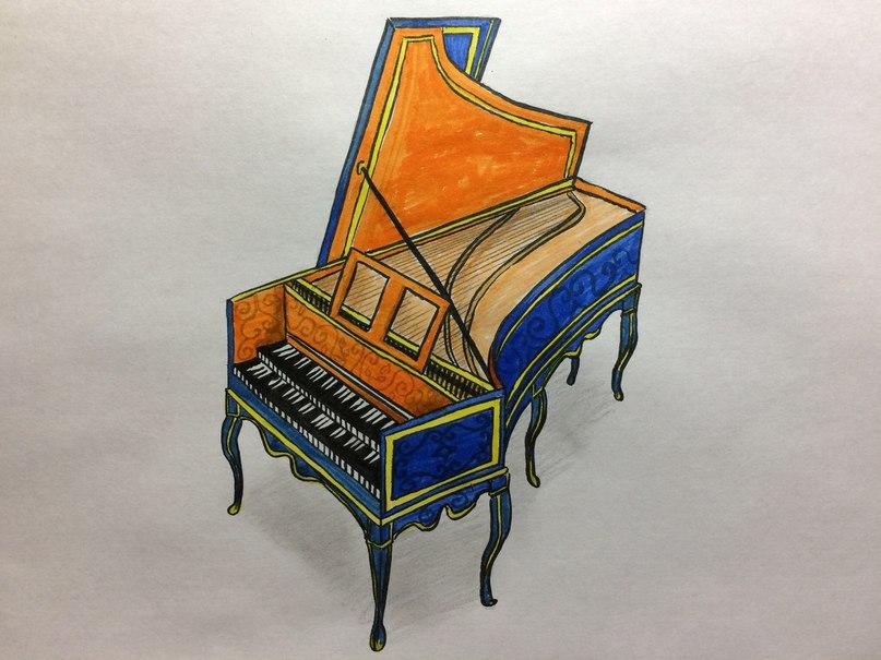 Что такое клавесин? фото и описание музыкального инструмента