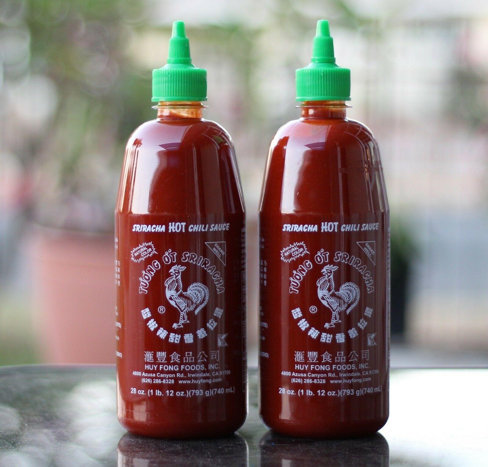Шрирача или сирача — пикантный соус из азии
