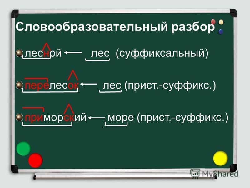 Словообразовательный разбор слова - как делать, примеры