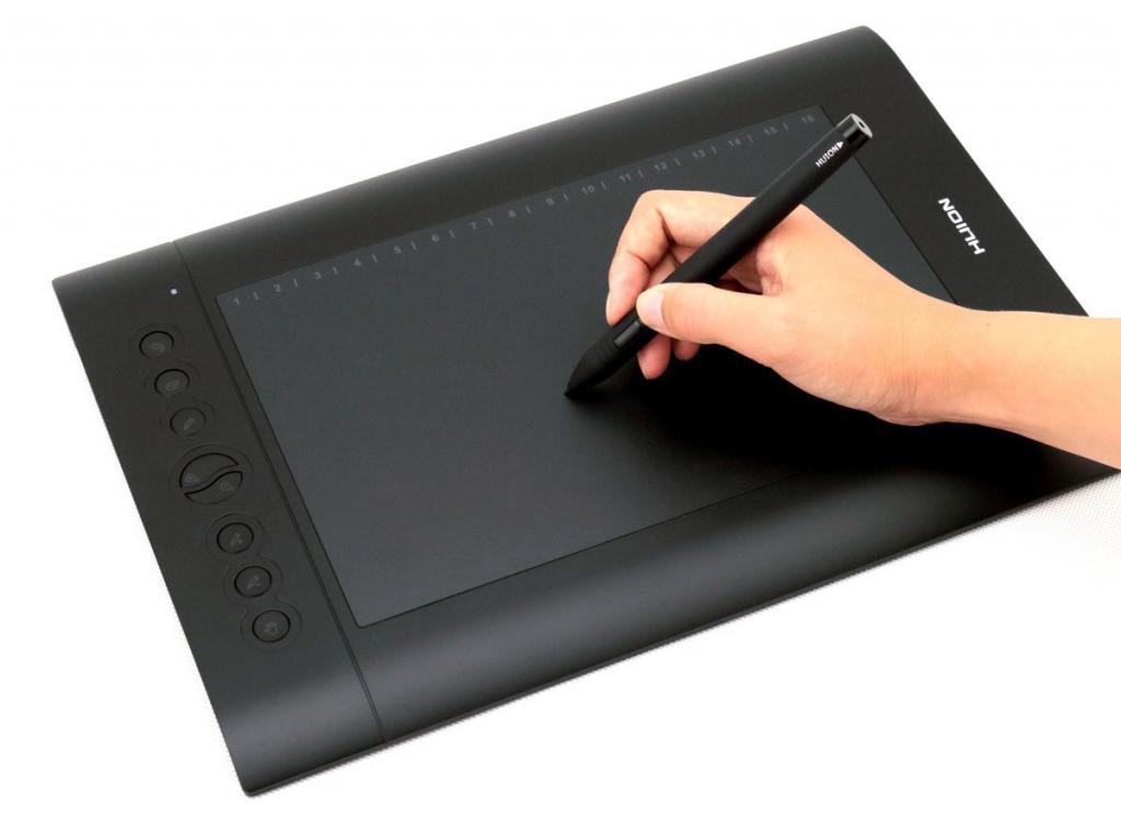 Что такое графический планшет и дигитайзер?