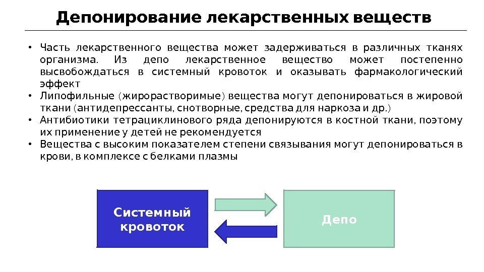Депонирование документов