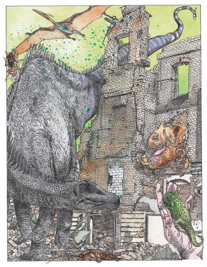 Как появились динозавры? - other