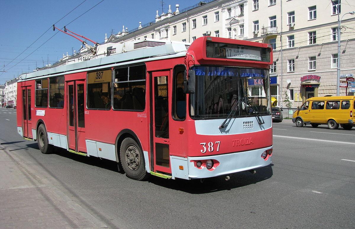 Братский троллейбус
