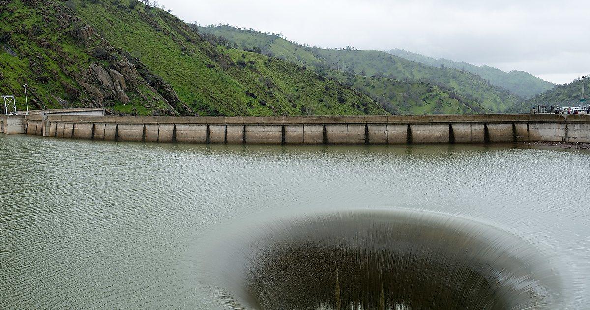 Плотина монтичелло, калифорния — дыра славы, видео, фото, на карте, как добраться на туристер.ру
