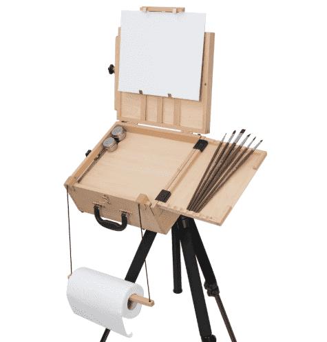 Этюдник своими руками — как сделать, материалы, фурнитура