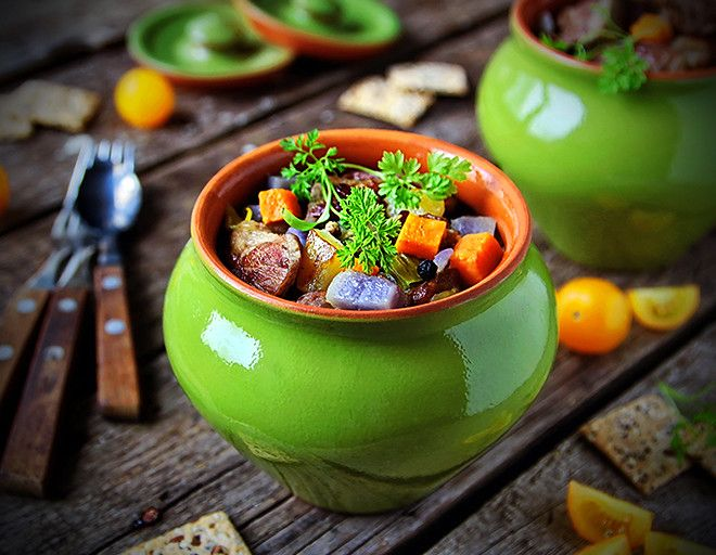 Самое простое жаркое по-домашнему – кулинарный рецепт