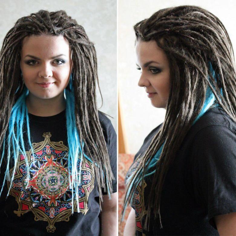Женские дреды: 100+ фото-идей для коротких и длинных волос