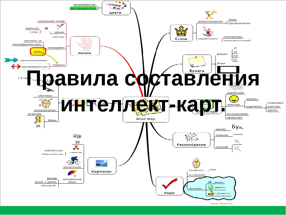 Mind map карты - что это простыми словами, программы для создания