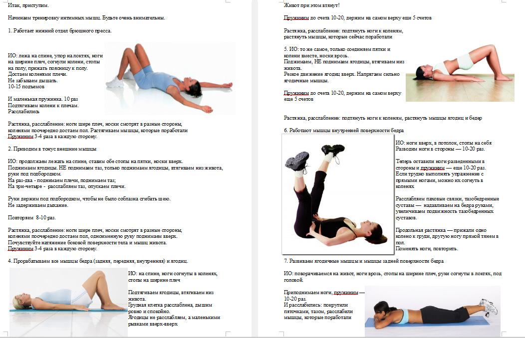 Тренажеры для интимных мышц - методика и практика применения