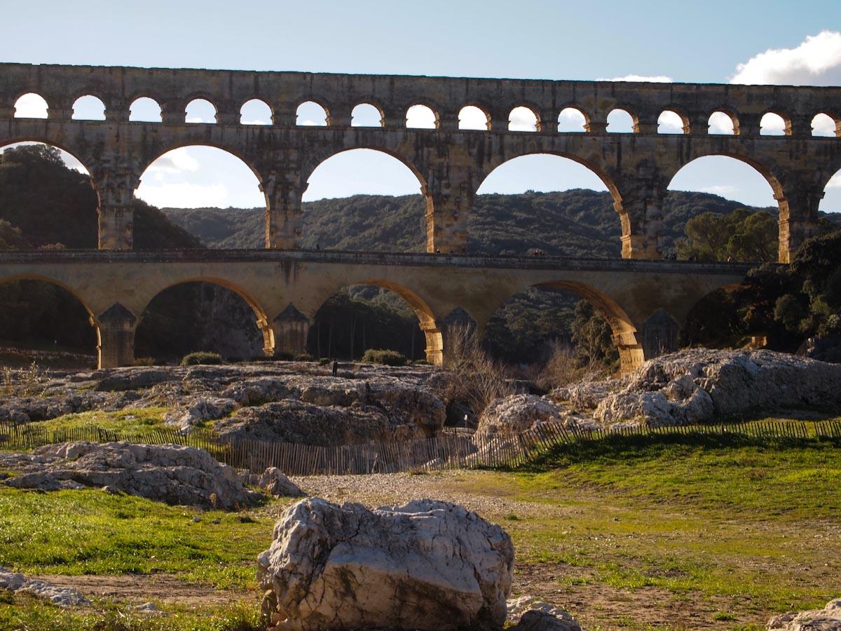 Акведуки и бани в древнем риме