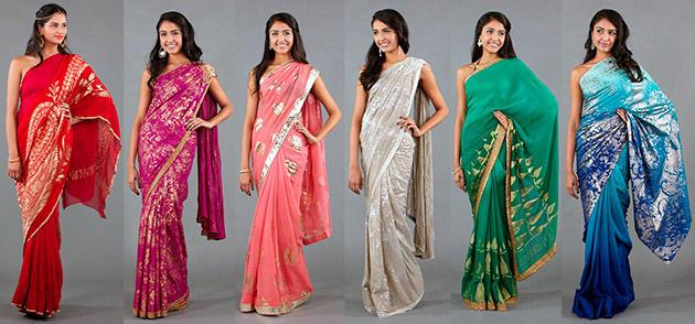 Сари: индиское платье, с чем носить и как надевать (39 фото)