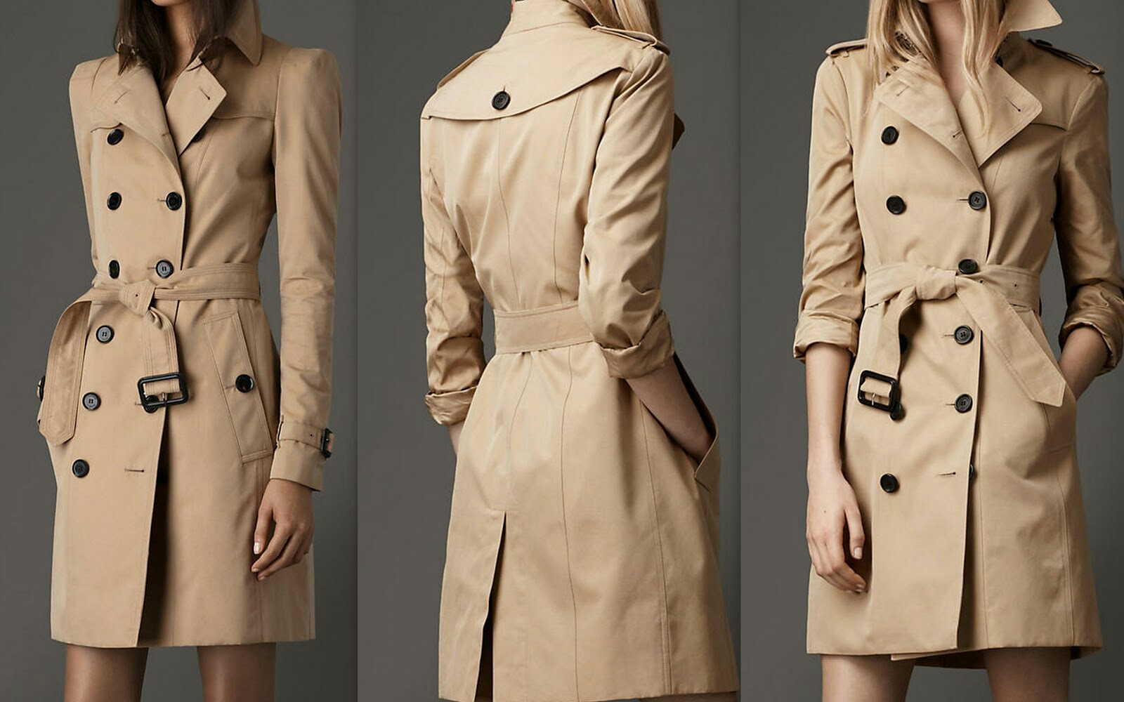 Женский тренчкот – классический, пальто, длинный, короткий, без рукавов, с поясом, оверсайз, платье, в клетку, двубортный, шерстяной, кожаный