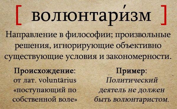 Волюнтаризм (политика) — википедия. что такое волюнтаризм (политика)