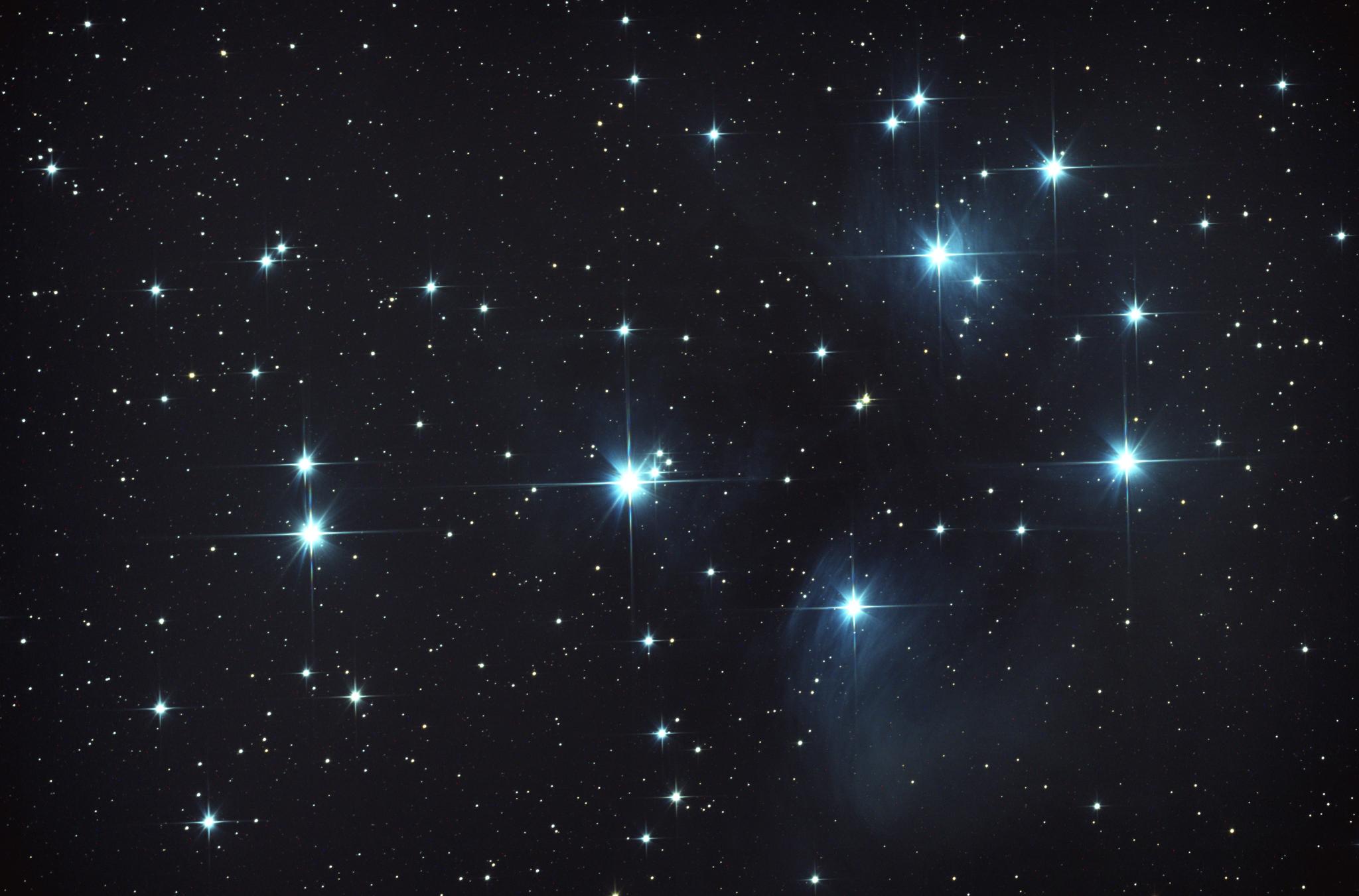 Плеядеанцы: жители звездного скопления— плеяды
