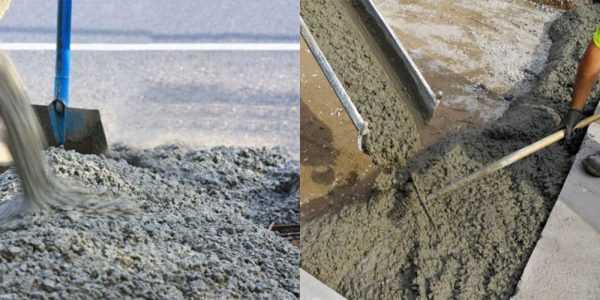 Тощий бетон: состав, марки, правила подготовки, порядок укладки и уплотнения